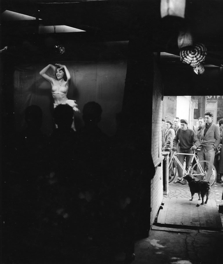 Trpidante Wanda 1953  Robert Doisneau