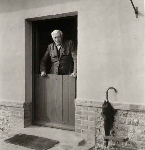 Georges Braque a Varengeville Normandy, 1953  Robert Doisneau
