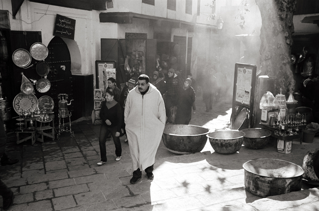 The Medina, Fez, Morocco; Leica MP 0.58, 35mm Summicron, Kodak Tri-X © Doug Kim