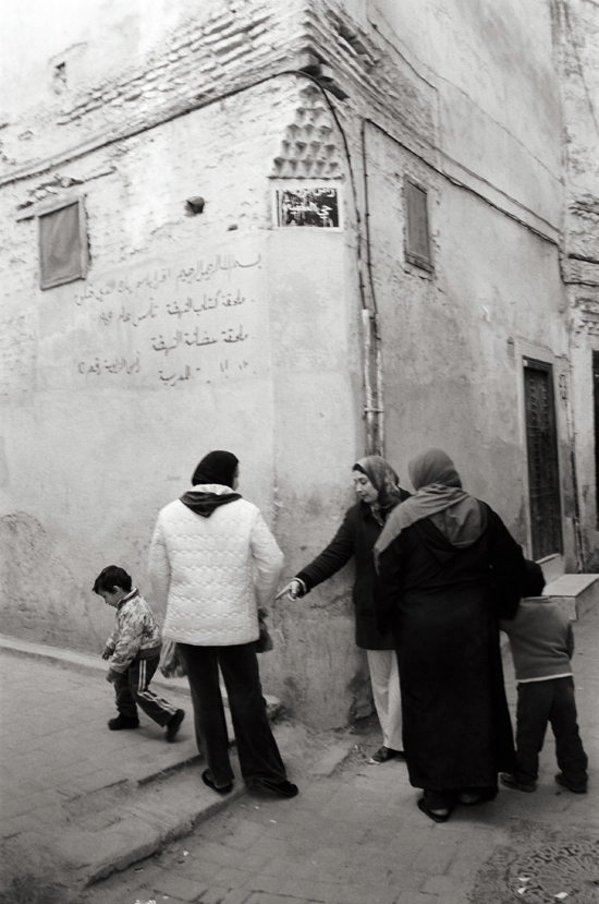 The Mellah, Jewish Quarter, Fez, Morocco; Leica MP 0.58, 35mm Summicron, Kodak Tri-X © Doug Kim