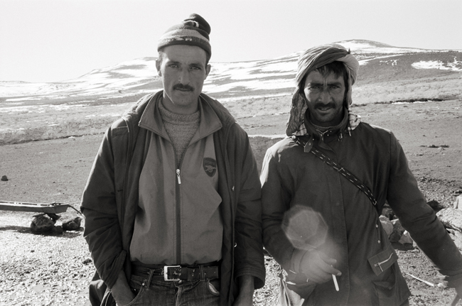 Berber Shepherds, Timahdte, Morocco; Leica MP 0.58, 35mm Summicron, Kodak Tri-X © Doug Kim