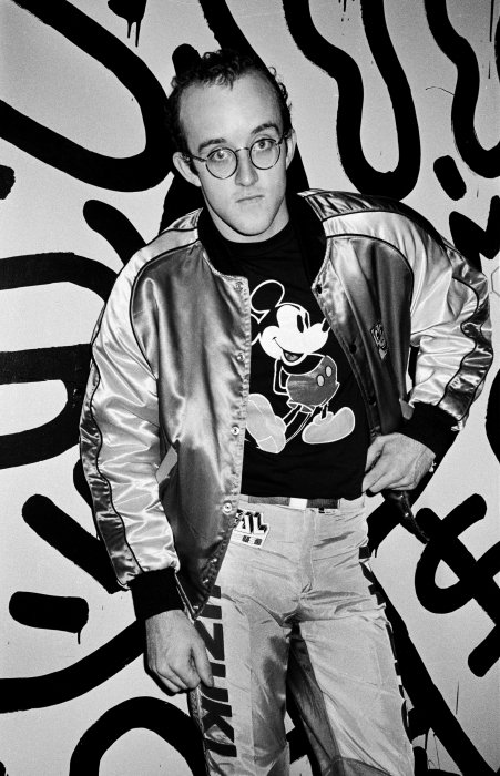 Keith Haring © Roxanne Lowit