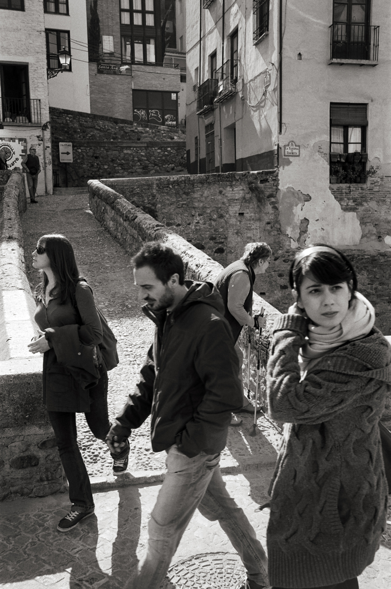 Carrera del Darro, Granada, Spain  Doug Kim; Leica MP 0.58, 35mm Summicron, Kodak Tri-X