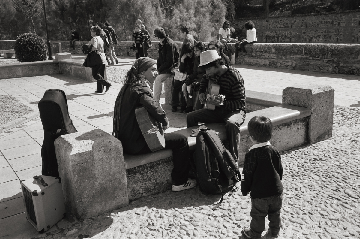 Carrera del Darro, Granada, Spain © Doug Kim; Leica MP 0.58, 35mm Summicron, Kodak Tri-X