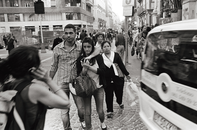 Via Roma, Napoli; Leica MP 0.58, 35mm Summicron, Kodak Tri-X © Doug