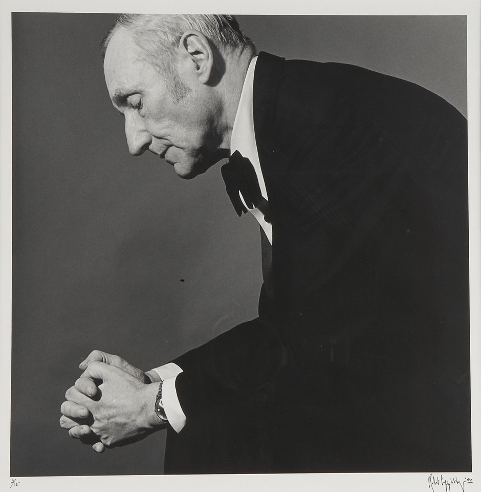 William Burroughs © Robert Mapplethorpe