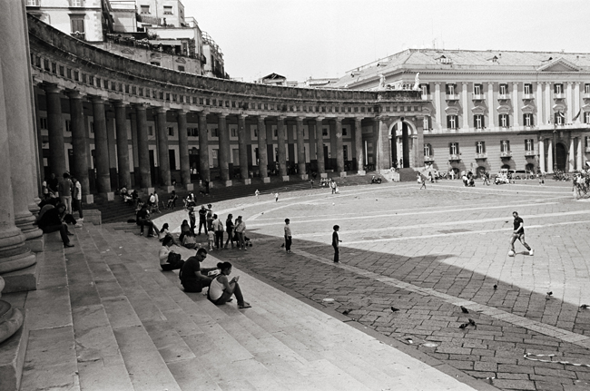 Piazza del Plebiscito; Leica MP 0.58, 35mm Summicron, Kodak Tri-X