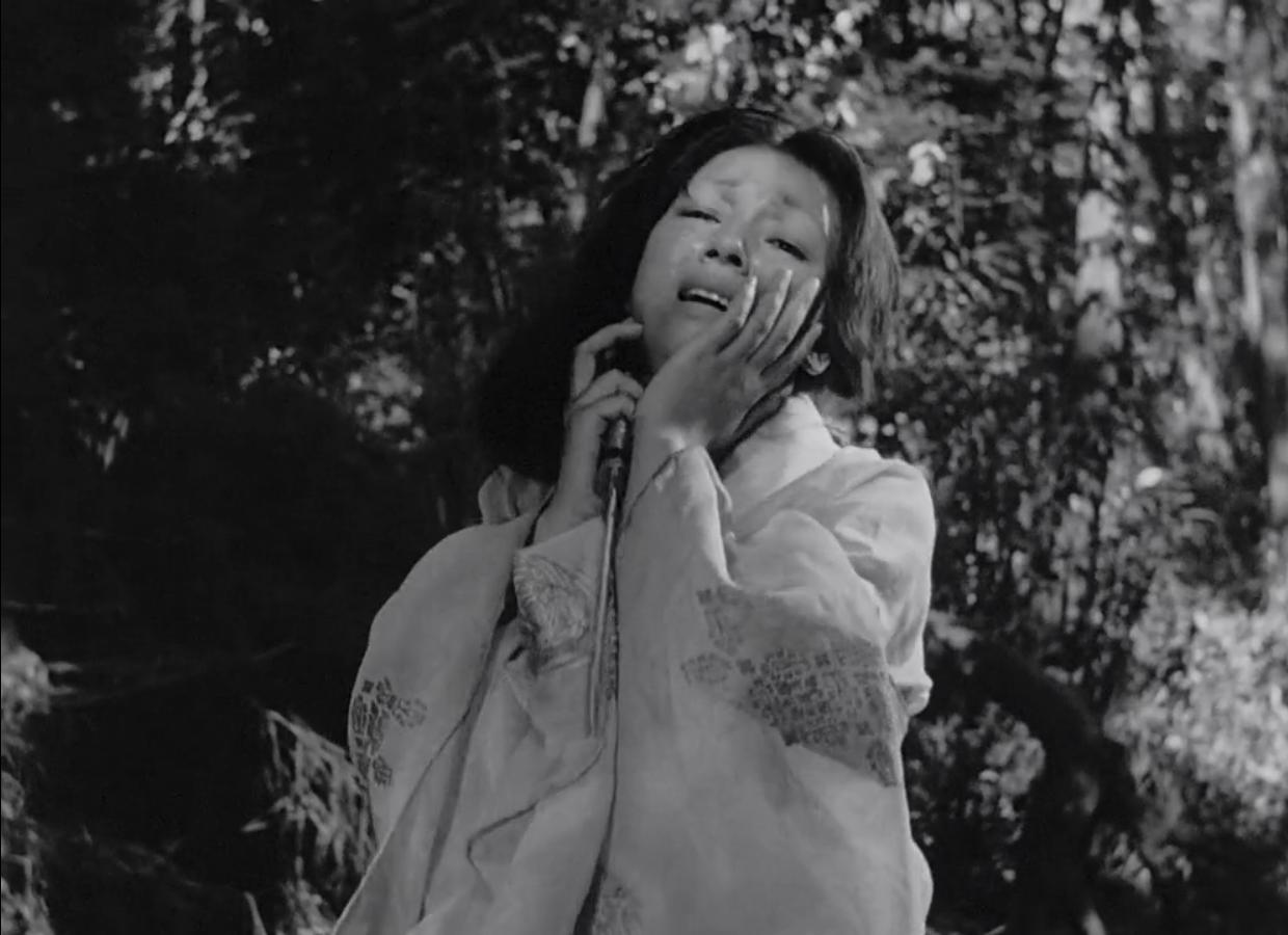 Machiko Kyô in Rashomon (1950)