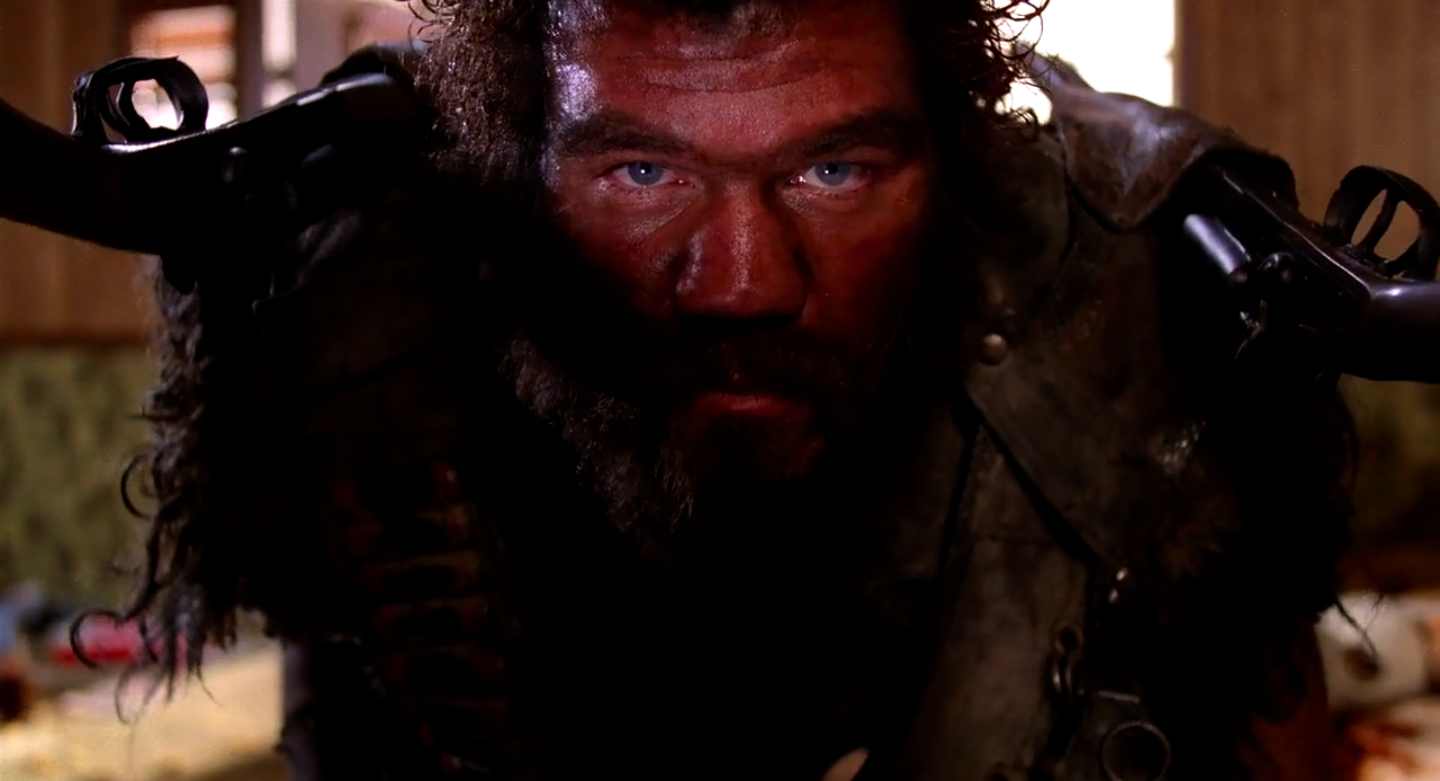 Randall 'Tex' Cobb in Raising Arizona (1987)