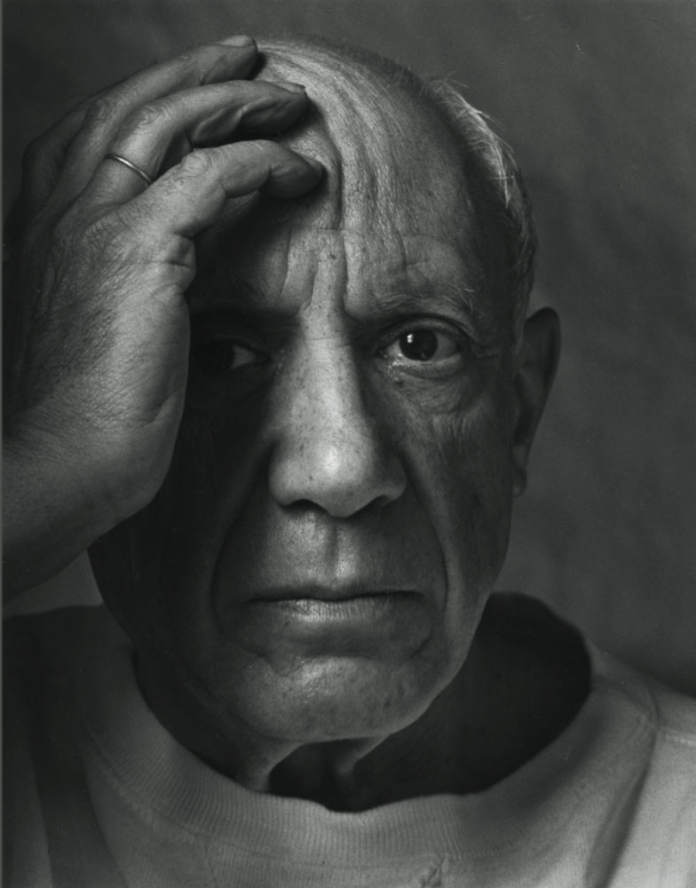 Pablo Picasso, 1954  Arnold Newman