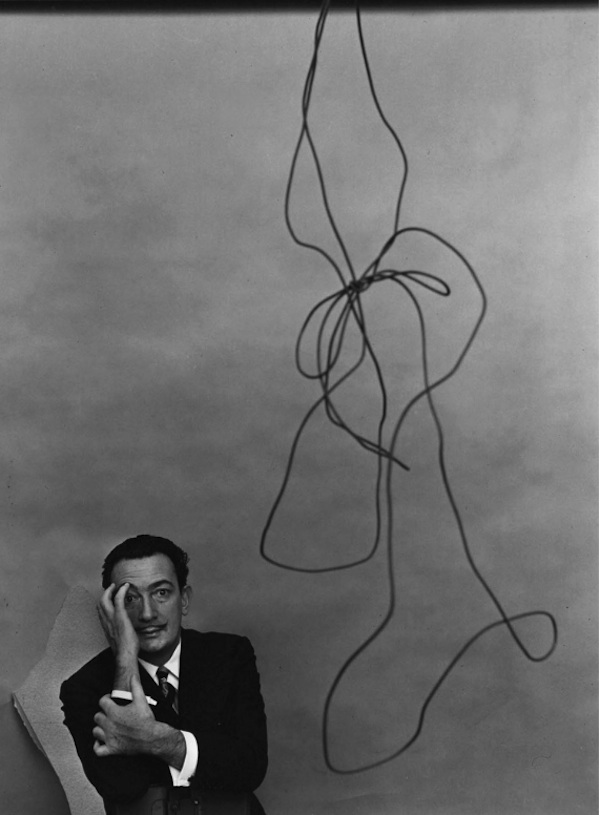 Salvador Dali, 1951  Arnold Newman