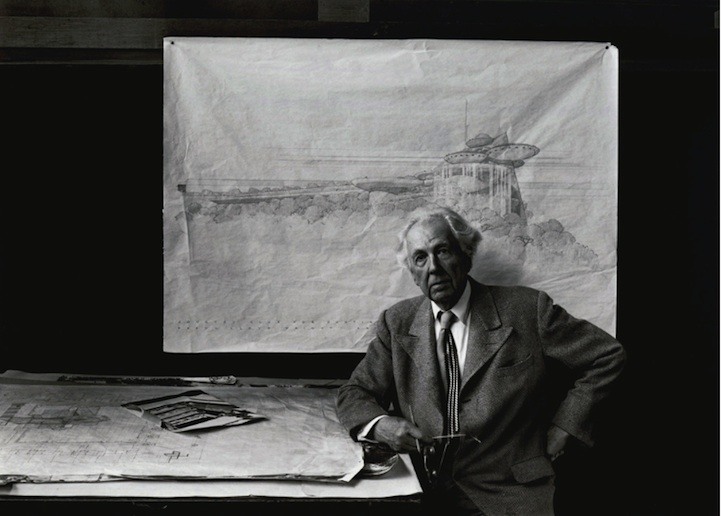 Frank Lloyd Wright, 1947  Arnold Newman
