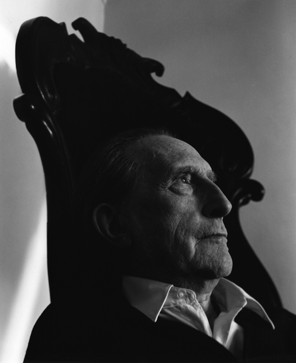 Marcel Duchamp, 1966  Arnold Newman