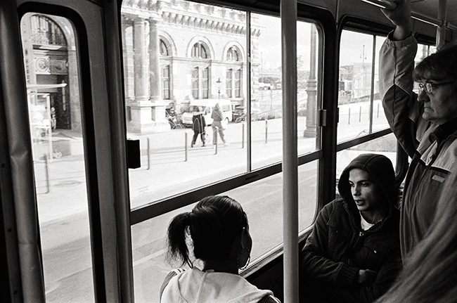 District V, Budapest, Hungary; Leica MP 0.58, 35mm Summicron, Kodak Tri-X © Doug Kim