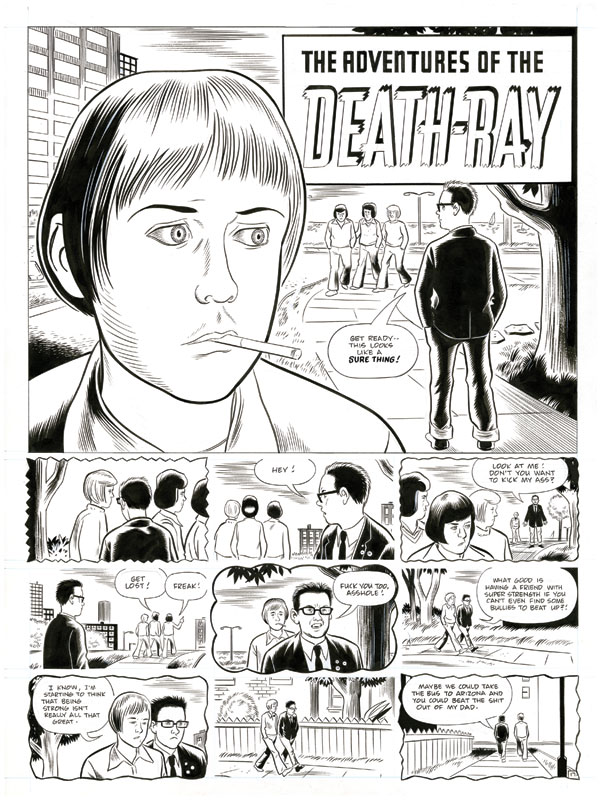The Death-Ray @ Daniel Clowes