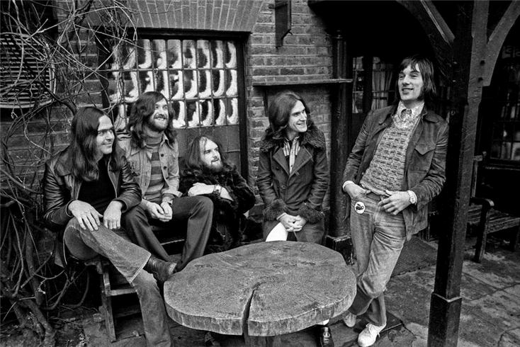 The Kinks, 1972 © Barrie Wentzell