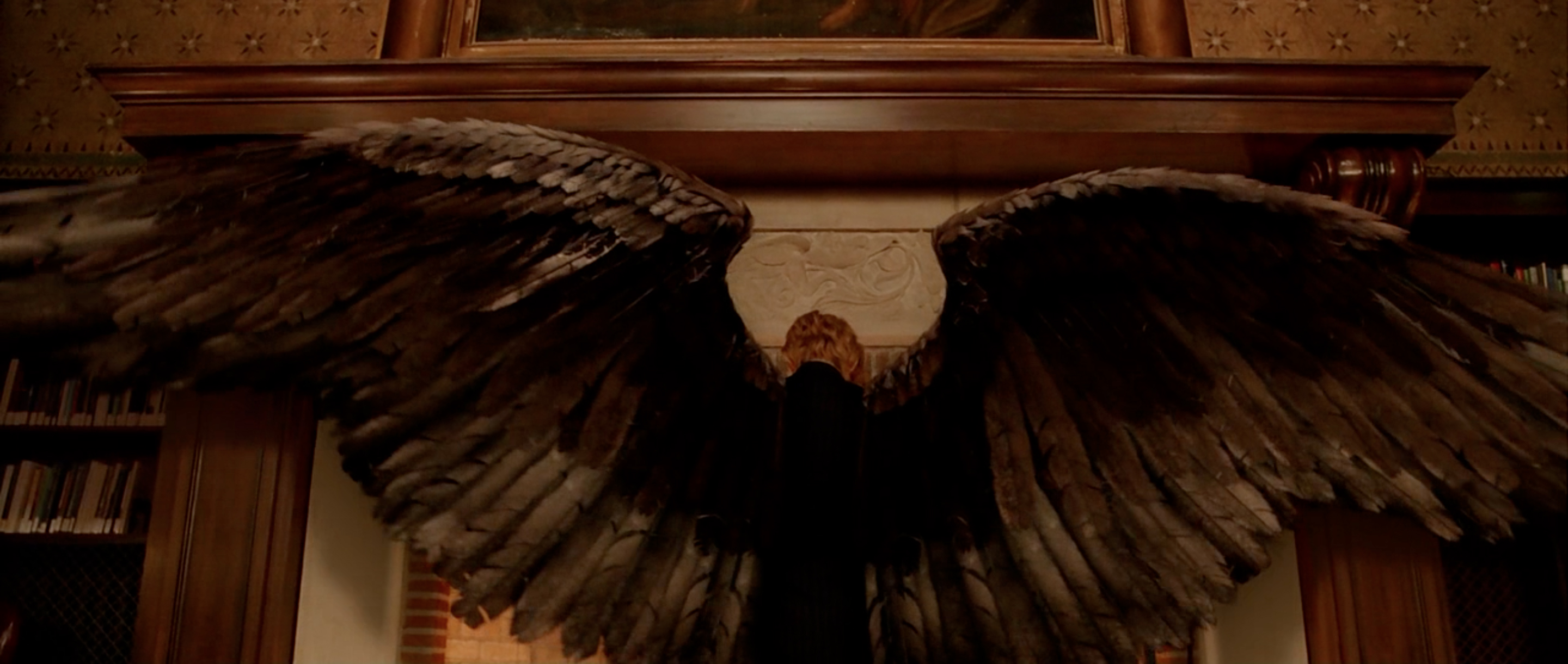 Tilda Swinton as the archangel Gabriel in Constantine, 2005