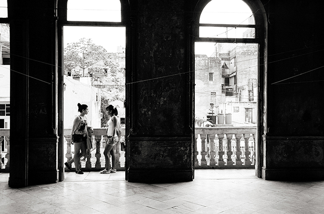 Isis &amp; Yurelys, Havana, Cuba; Leica MP 0.58, 35mm Summicron, Kodak Tri-X  Doug Kim