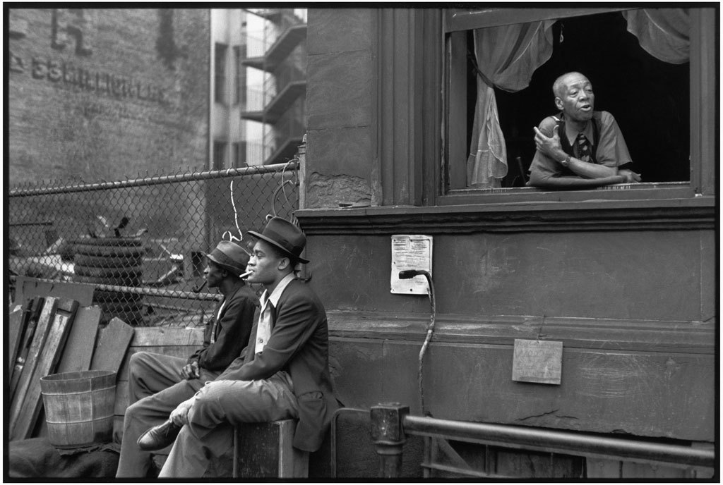 Harlem, New York, 1947  Henri Cartier-Bresson, Magnum Photos