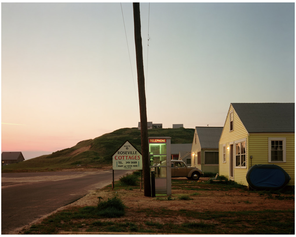 Roseville Cottages, Truro, Massachusetts, 1976 © Joel Meyerowitz