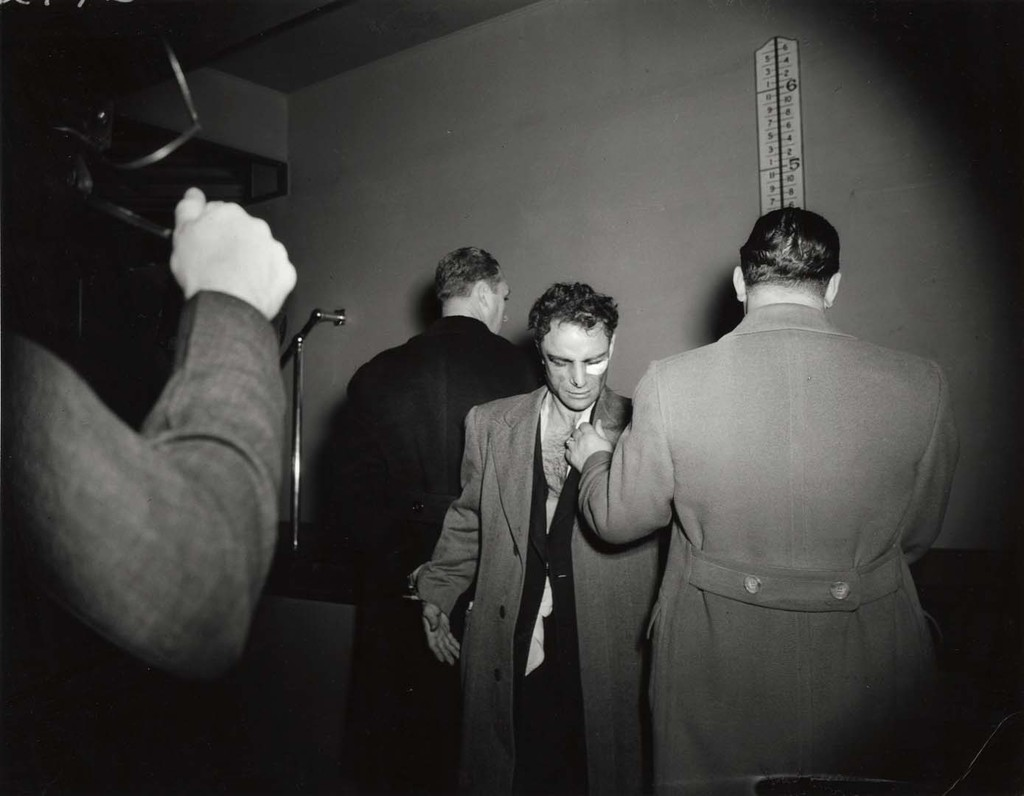 "Anthony Esposito, Accused ""Cop Killer"", January 16, 1941 © Weegee"