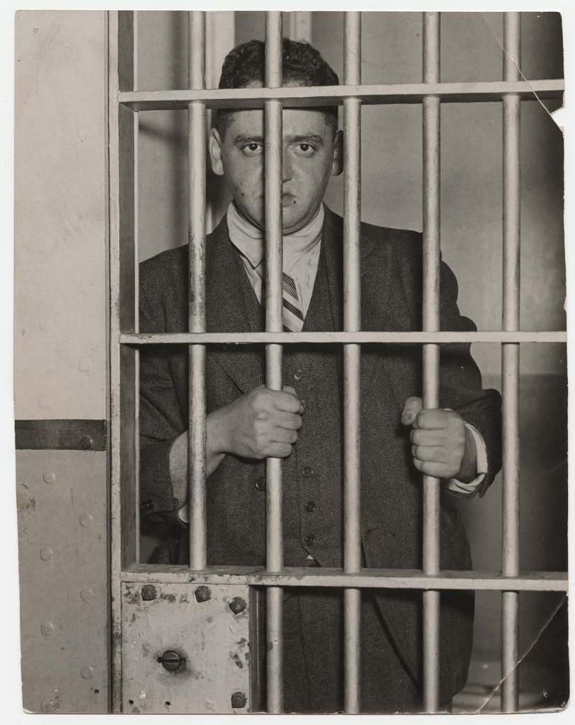 Behind Bars...For Being a Dope..., ca. 1936 © Weegee