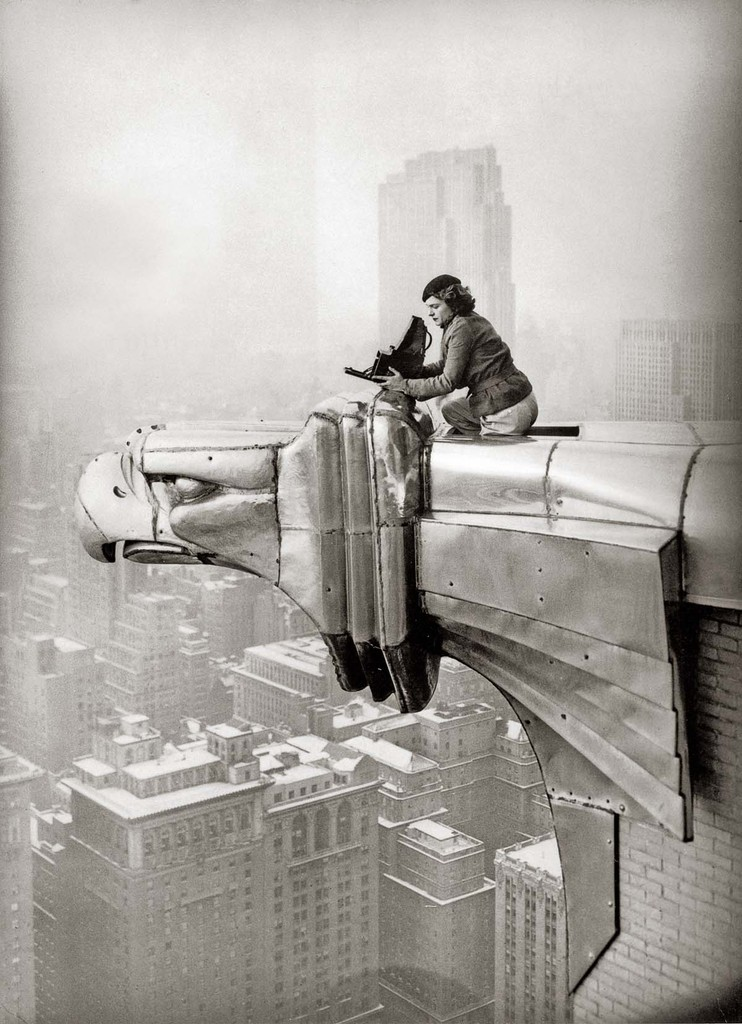 Margaret bourke-white oscar graubner chrysler building