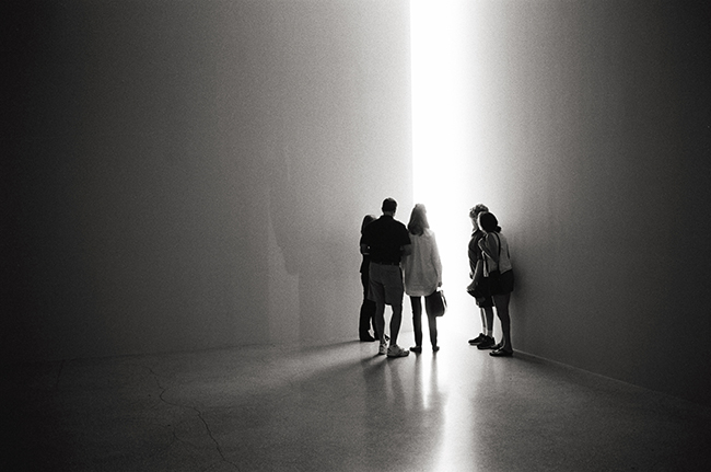 James Turrell, The Guggenheim; Leica MP 0.58, 35mm Summicron, Kodak Tri-X © Doug Kim