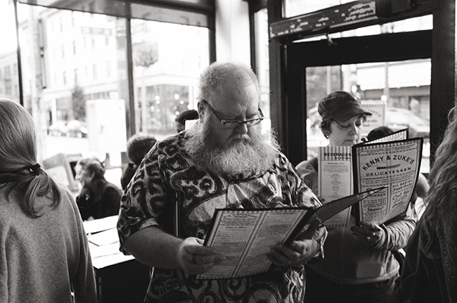 Kenny & Zuke's, Portland, Oregon; Leica MP 0.58, 35mm Summicron, Kodak Tri-X © Doug Kim