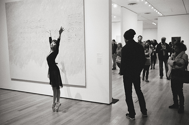 Brooklyn Ballet, MoMA; Leica MP 0.58, 35mm Summicron, Kodak Tri-X © Doug Kim