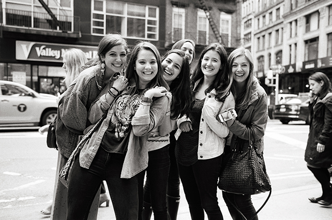 Some Girls, Flatiron, New York; Leica MP 0.58, 35mm Summicron, Kodak Tri-X © Doug Kim