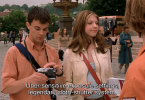 Travis Wester and Michelle Trachtenberg with a Leica M7 in Eurotrip 2004