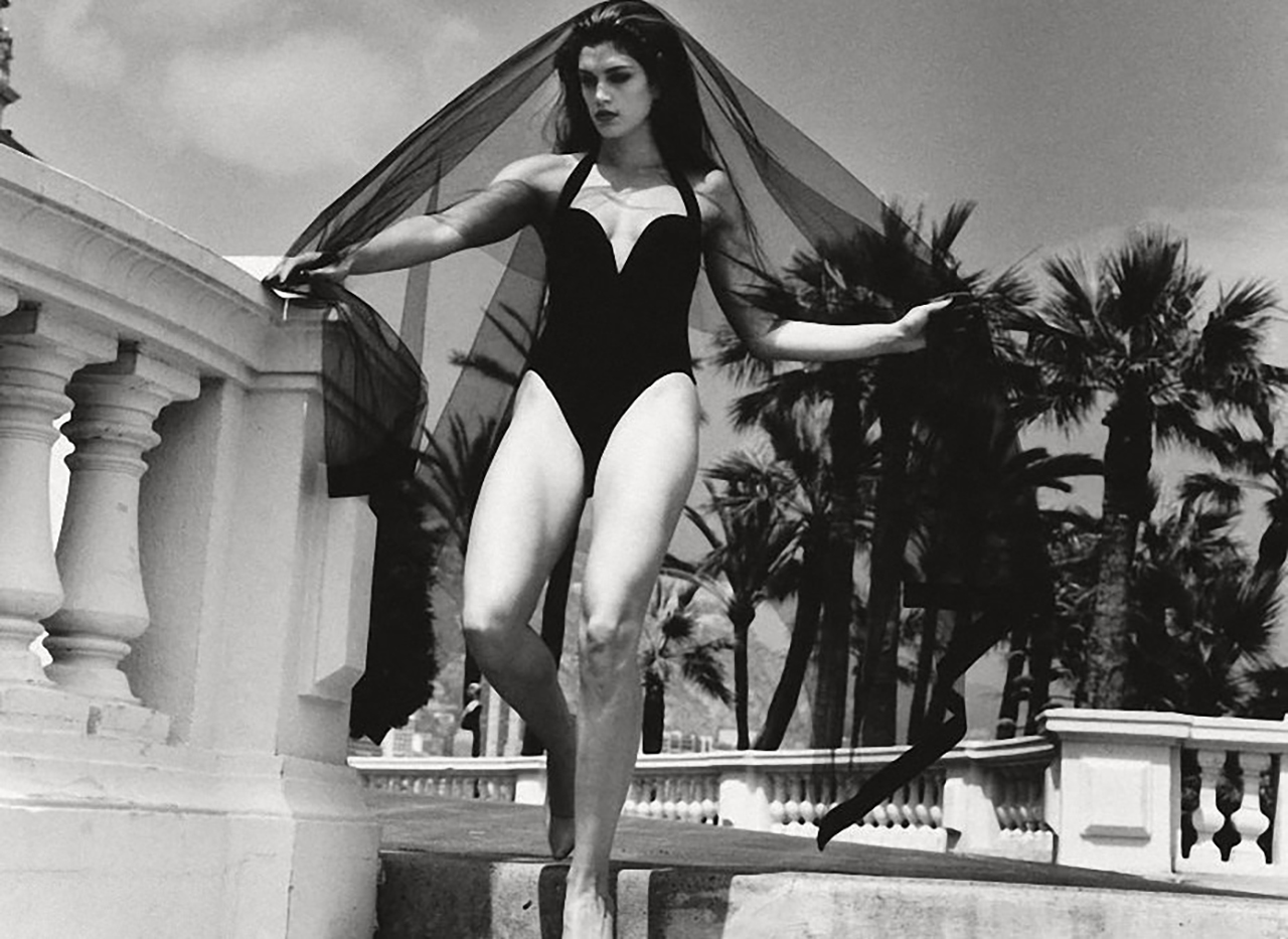 Cindy Crawford, Helmut Newton, Monaco, Vogue, Fashion Model, Beautiful Woman, Lets